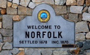 Welcome to Norfolk Sign